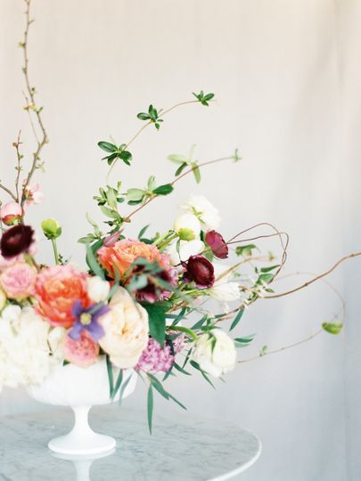 Wild and natural centerpiece