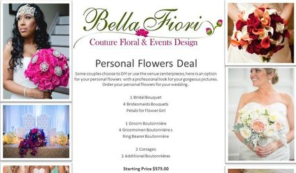 Bella Fiori Couture Floral & Events Design 1