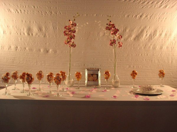 Tmx 1295543628119 Purpletable Valley Village wedding cake