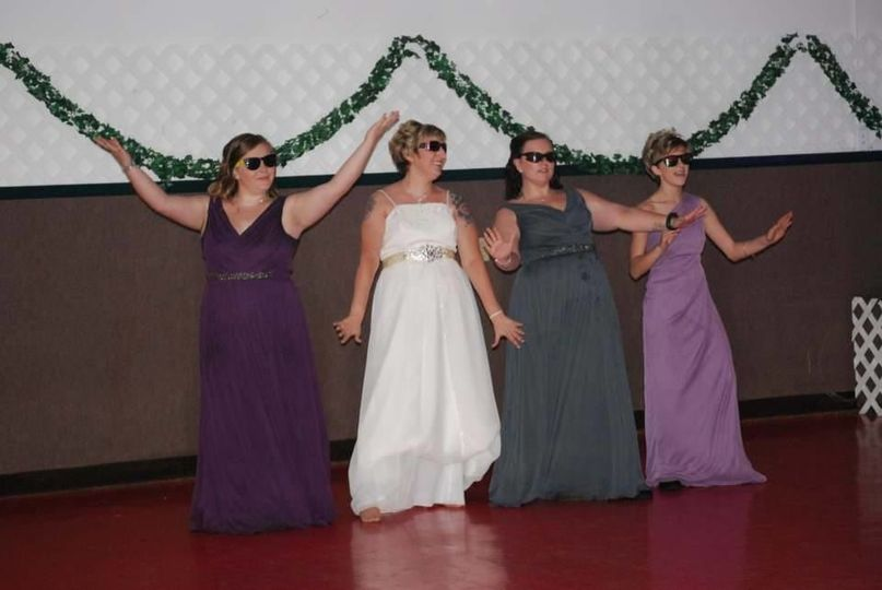The Extra Cool Bridal Party