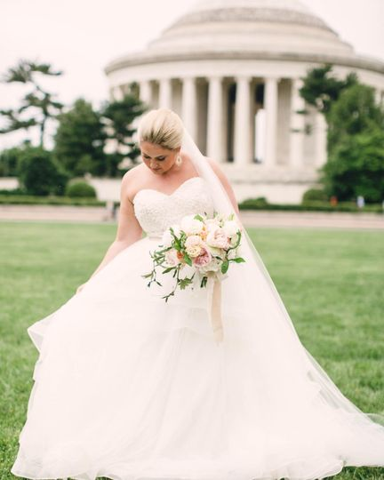 Wearing a lovely gown, pc: @kristengardnerphoto