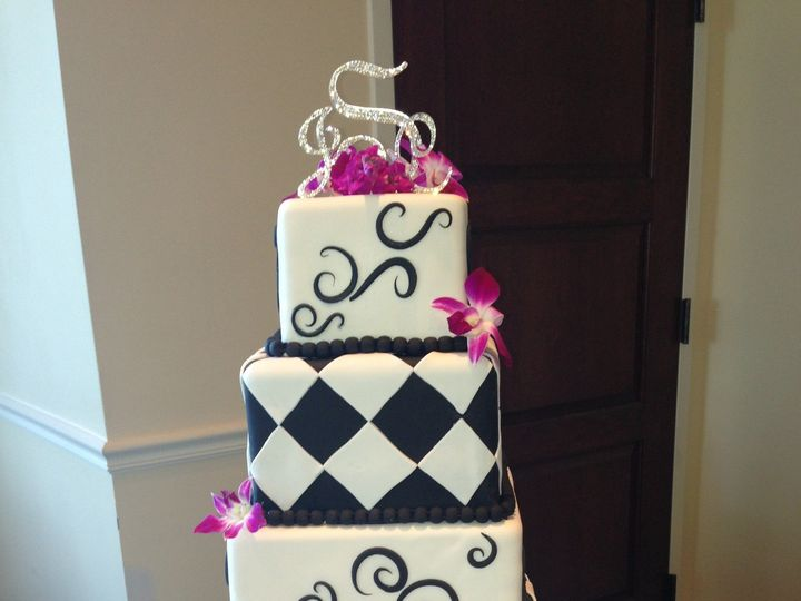Tmx 1457228931758 3 Fairport, New York wedding cake