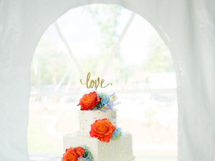 Tmx 1508528588099 Brownseverinowedding Fairport, New York wedding cake