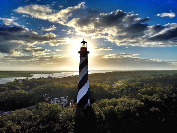 St. Augustine Lighthouse at Sunrise