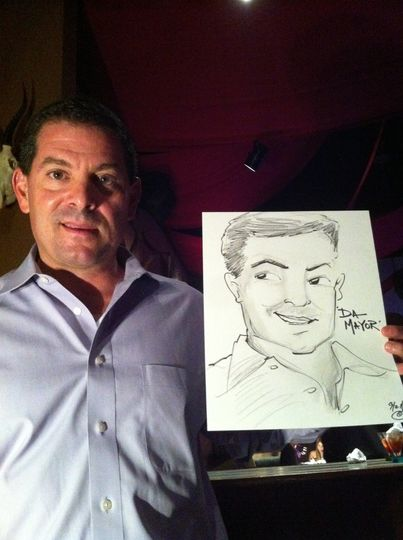 caricature artist christine hummer entertainer fort lauderdale