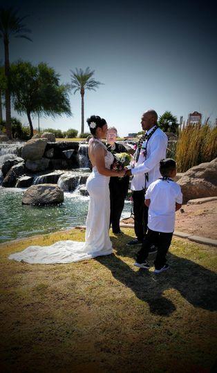 A Hawaiian Wedding in AZ