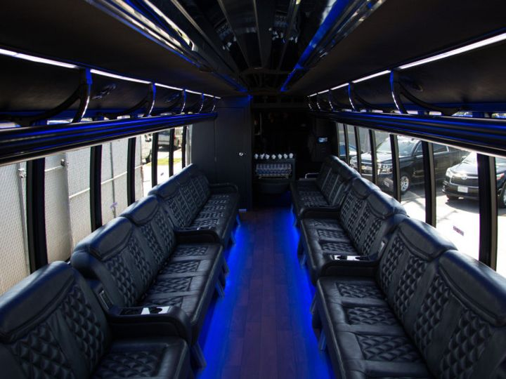 Tmx 1468282626799 Limo Bus Interior 800x Los Angeles, CA wedding transportation