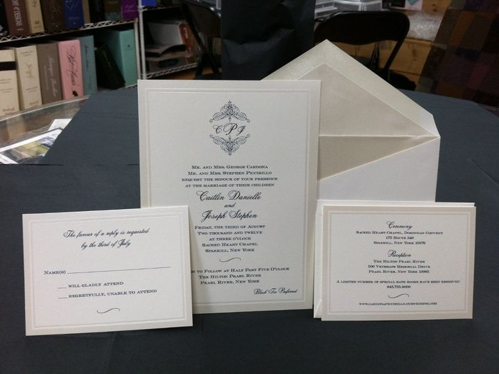 Tmx 1355162786662 IMG0670Copy Larchmont wedding invitation