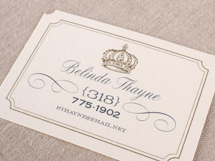 Tmx 1355164200223 BelindaThaynebusinesscard014x6 Larchmont wedding invitation