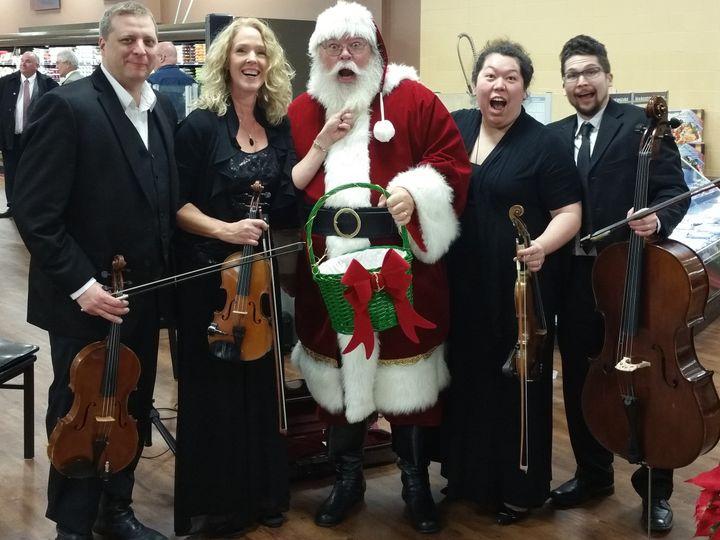 Tmx Santa With Quartet 51 5538 Canton, Michigan wedding ceremonymusic