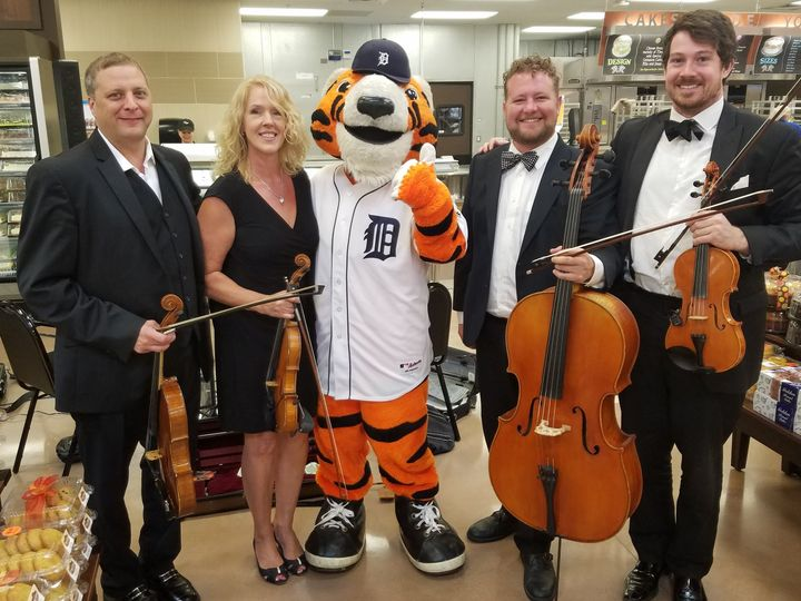 Tmx Tigers With Quartet 51 5538 Canton, Michigan wedding ceremonymusic