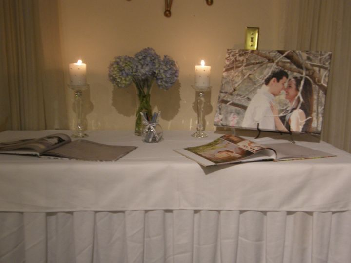 Memory books for your guests to sign