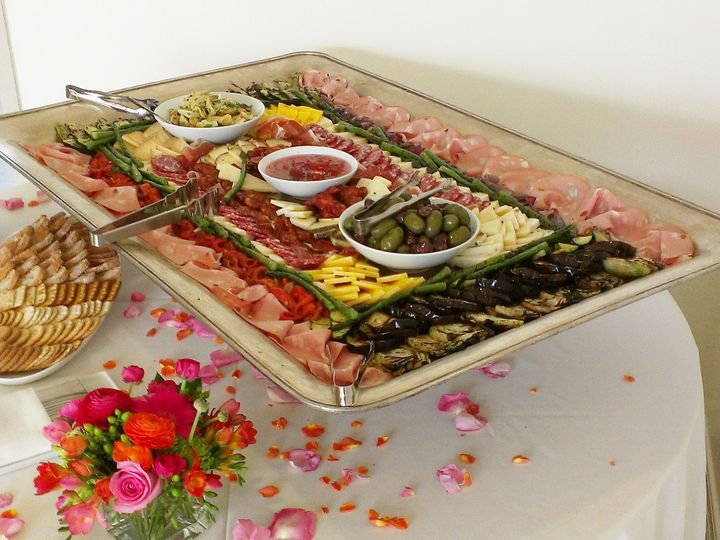 Tmx 1398279308603 Antipasti Platte Mill Valley wedding catering