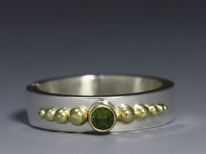 Tmx 1325725430649 1StoneBallCrownRing14KPeridot4 Mount Vernon wedding jewelry