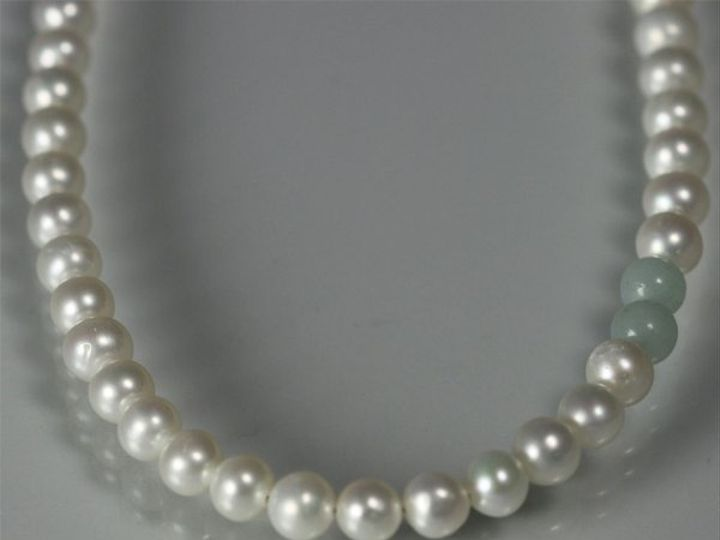 Tmx 1325725463602 16inPearlAccentcloseupAmazonite Mount Vernon wedding jewelry