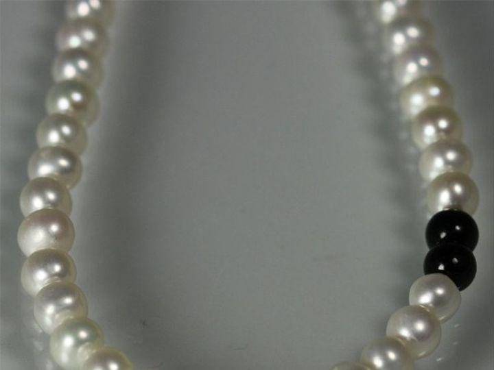 Tmx 1325725475086 16inPearlAccentcloseupBlackJade Mount Vernon wedding jewelry