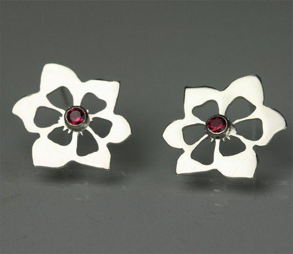 Tmx 1325725528618 BlossomPostwStoneRuby Mount Vernon wedding jewelry