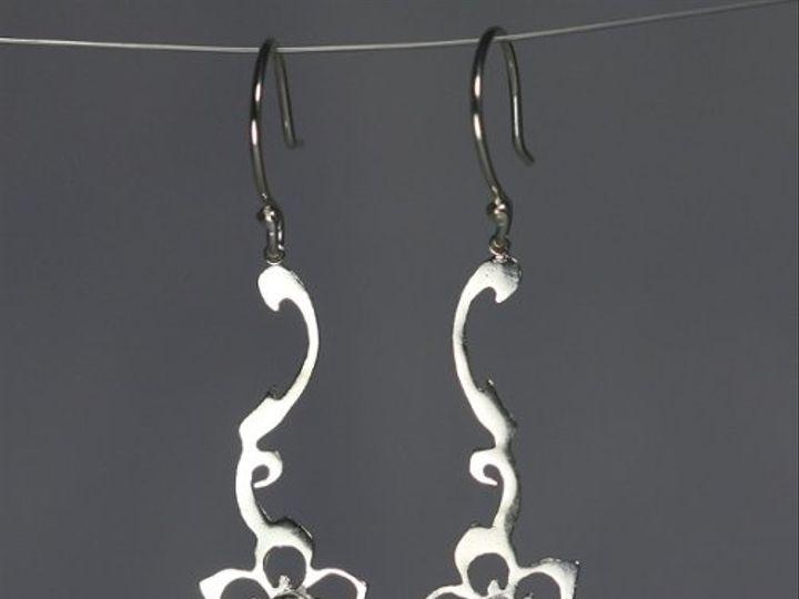 Tmx 1325725533383 CreepingFlowerEarwStoneBrioletteBlackCZBlueTopaz Mount Vernon wedding jewelry