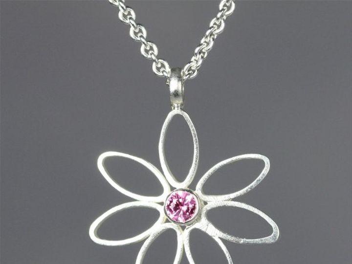 Tmx 1325725552289 DaisyNeckPinkTourmaline Mount Vernon wedding jewelry