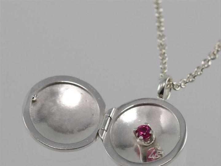 Tmx 1325725561024 LocketsmallwstoneRuby Mount Vernon wedding jewelry