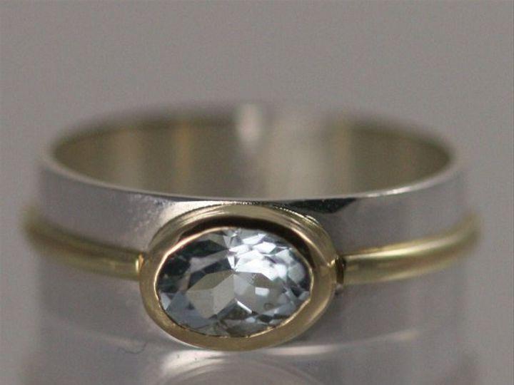 Tmx 1325725596743 OvalWrapRing14KAquamarine Mount Vernon wedding jewelry