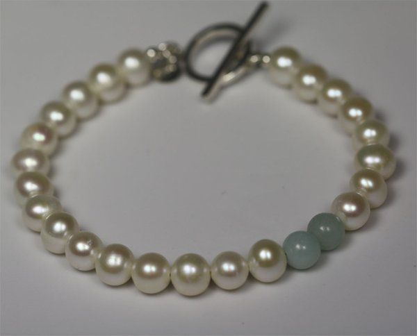 Tmx 1325725603008 PearlAccentBletAmazonite Mount Vernon wedding jewelry