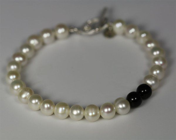 Tmx 1325725608618 PearlAccentBletBlackJade Mount Vernon wedding jewelry