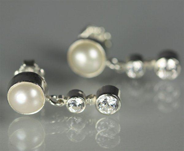 Tmx 1325725728133 Pearlw2StoneSequenceDropPostCZ Mount Vernon wedding jewelry