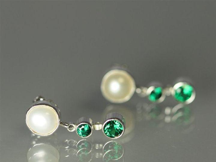 Tmx 1325725731555 Pearlw2StoneSequenceDropPostEmerald Mount Vernon wedding jewelry