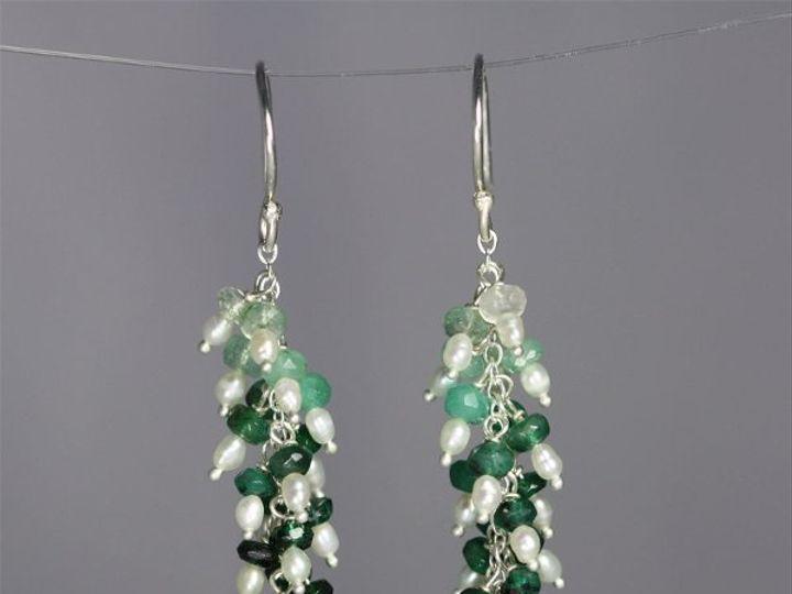Tmx 1325725768508 WaterfallEarEmeraldpearls Mount Vernon wedding jewelry