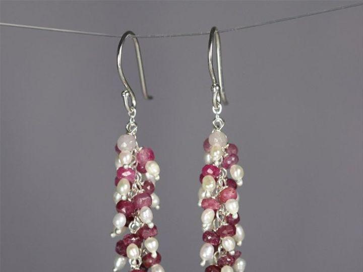 Tmx 1325725772524 WaterfallEarRubyPearl Mount Vernon wedding jewelry