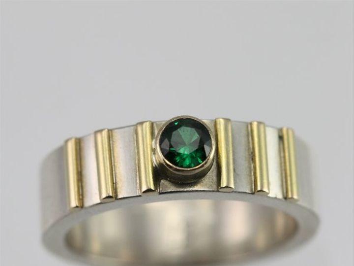 Tmx 1334835730768 1Stonew6LinesRing14KEmerald Mount Vernon wedding jewelry