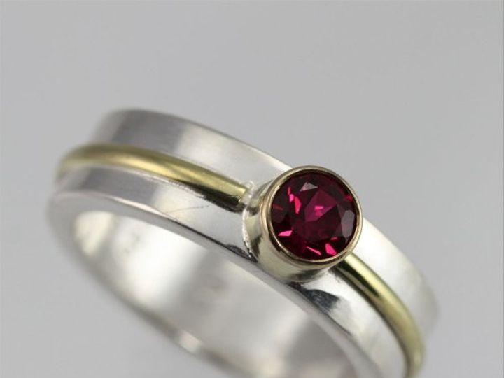 Tmx 1334835757934 1StoneWrapRingLrg.14KRuby2 Mount Vernon wedding jewelry