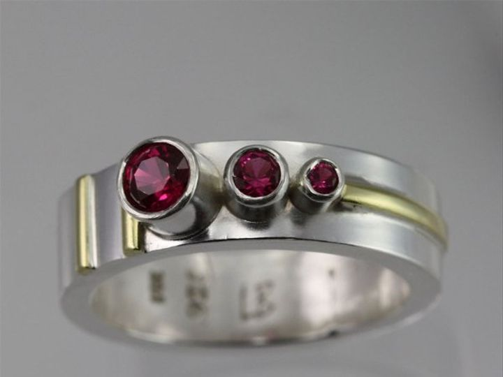 Tmx 1334835773122 3StoneSequenceRing14kRuby2 Mount Vernon wedding jewelry