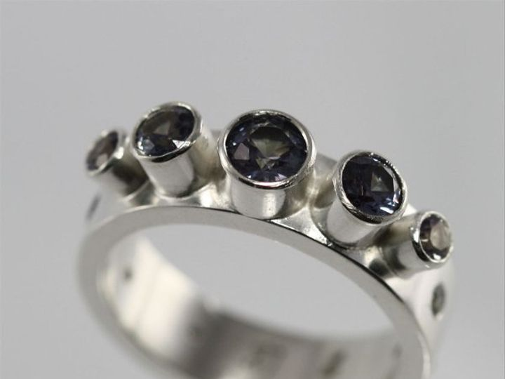 Tmx 1334835789293 5StoneCrownRingw6StoneWrapAlexandrite4 Mount Vernon wedding jewelry