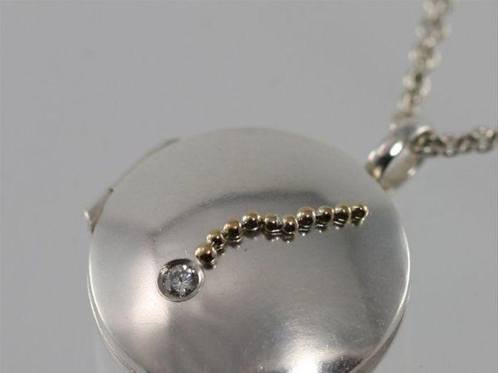 Tmx 1334835847224 LocketFallingStarDiamond8 Mount Vernon wedding jewelry