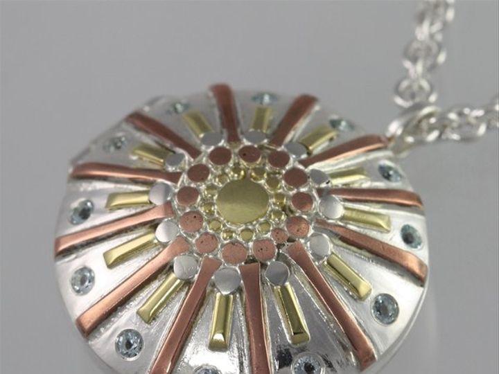 Tmx 1334835881166 LocketSunburstBlueTopaz Mount Vernon wedding jewelry