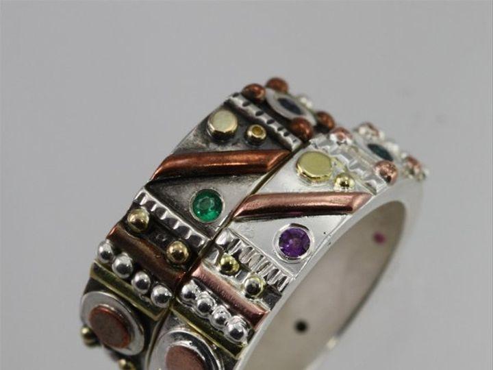 Tmx 1334835951627 TotemRingStack2 Mount Vernon wedding jewelry