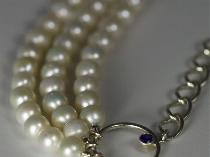 Tmx 1334835956384 TriplePearlStrandonChain2 Mount Vernon wedding jewelry