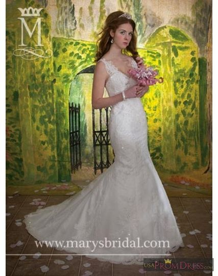 This lace gown from Mary's Fairy Tale Princess collection retails for under $600!! Our sample gown...