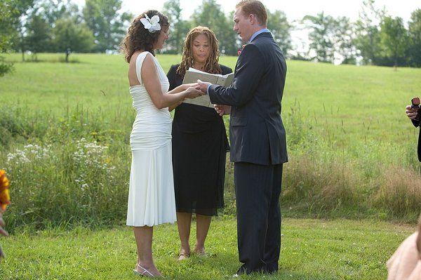 A vineyard wedding