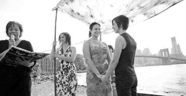 Tmx 1430417671846 Kimlaurasarahbkbrdg Brooklyn, New York wedding officiant