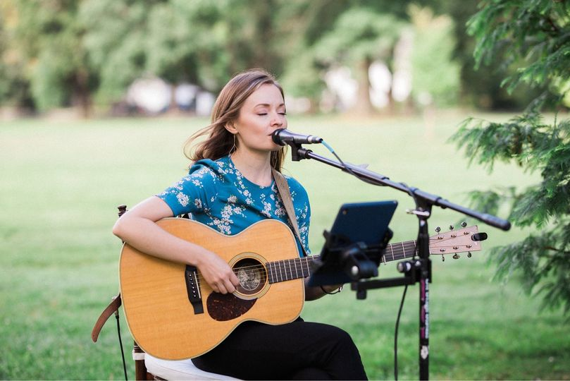 Lindsay Straw: Folk Singer & Guitarist - Ceremony Music