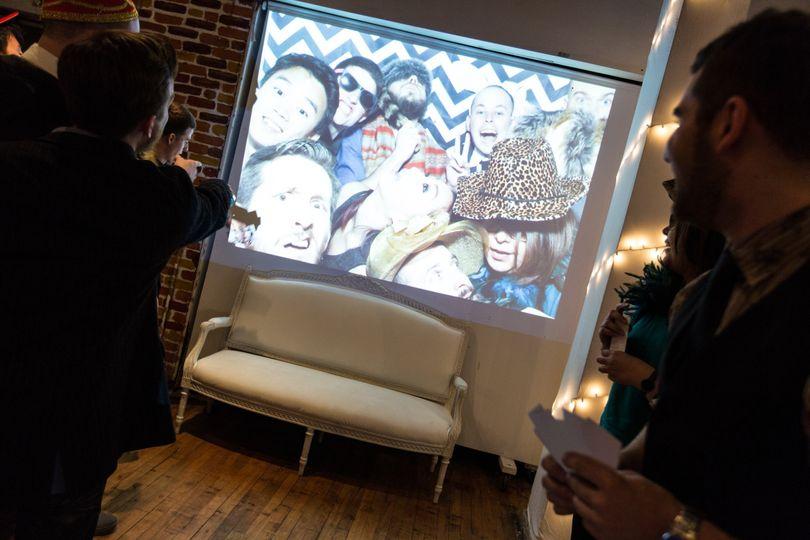 slideshow projection