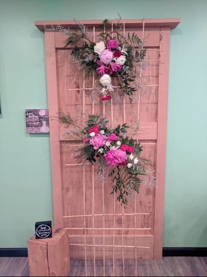 Wall Floral Art