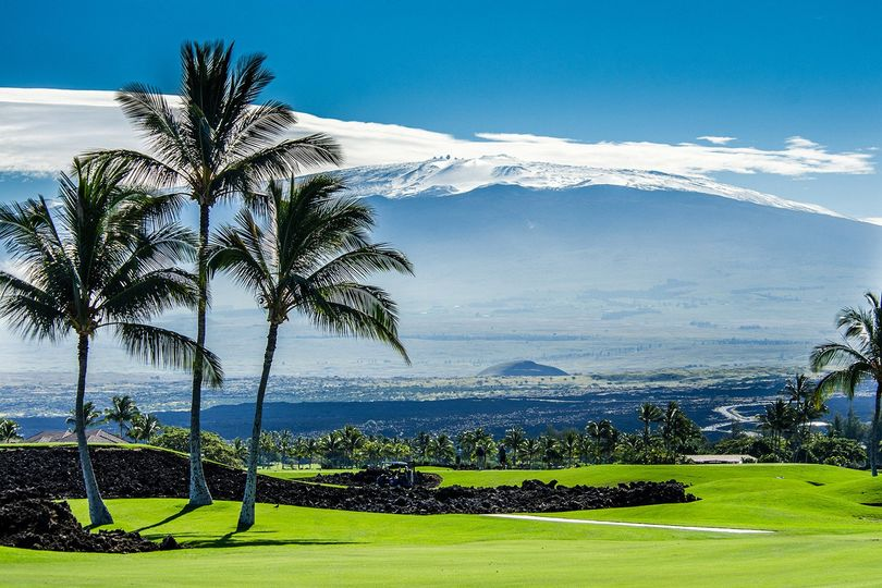 winters day at mauna lani