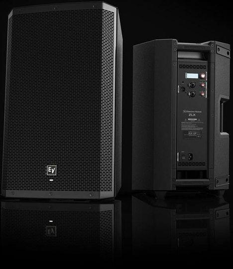 Brand new speakers