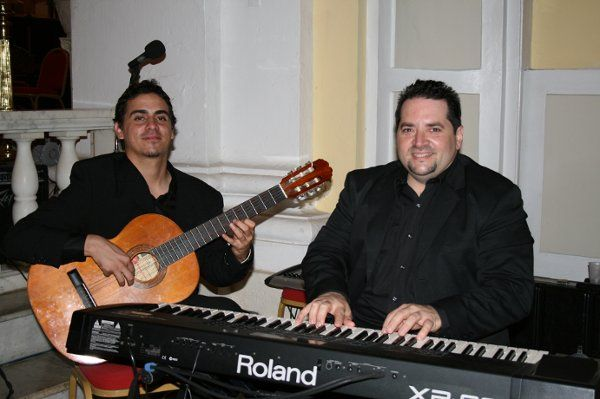Piano y guitarra