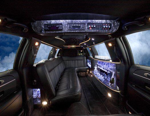Our 10-passenger interior