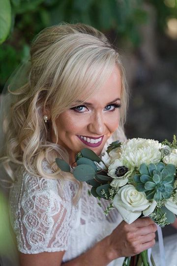 Bridal portrait | PC: Lorinda K Photography